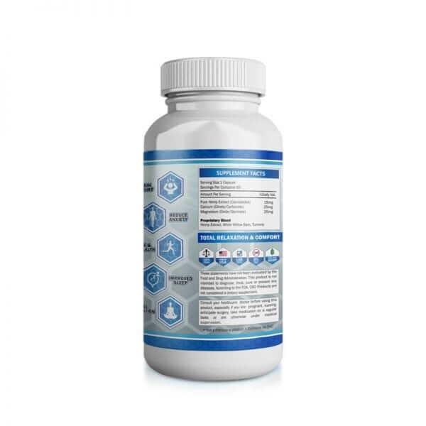 60 hemp extract capsules right