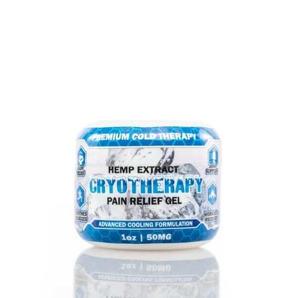 CBD pain relief gel 1 oz