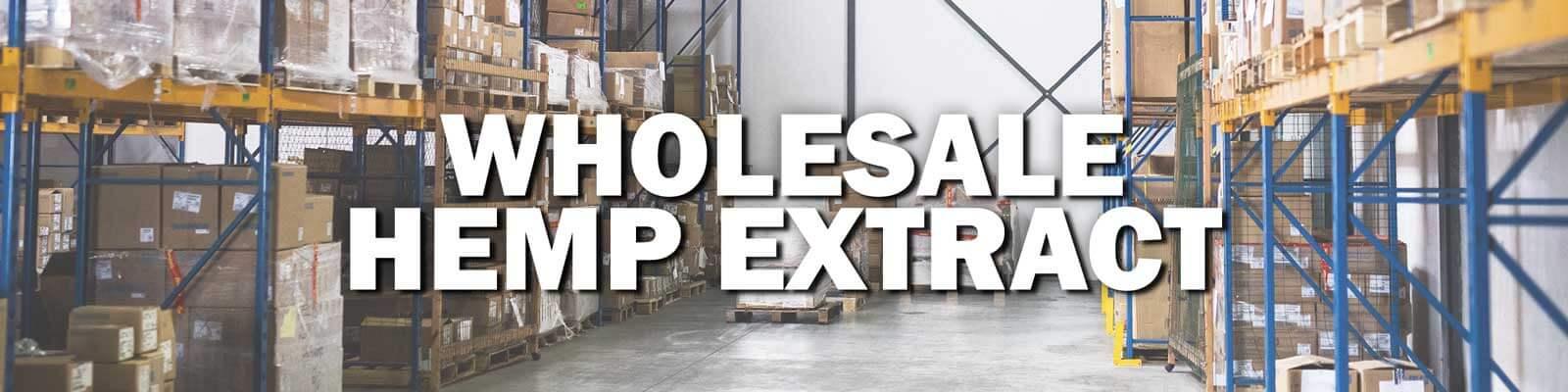 Wholesale Hemp Extract