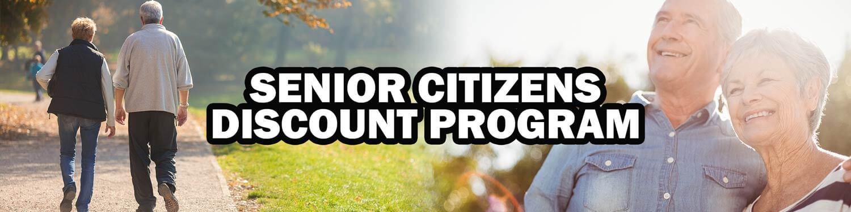 Senior Citizens Discount Program