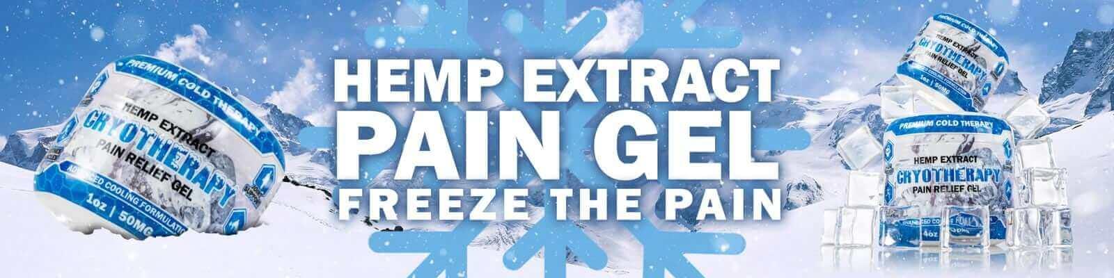 Hemp Extract Pain Gel