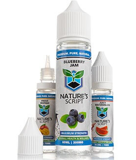 CBD E-Liquid Nature's Script