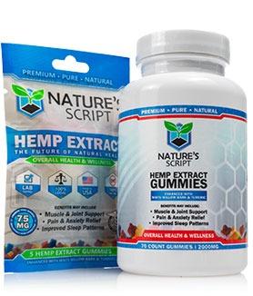 CBD Gummies Nature's Script