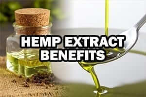 hemp oil poured on spoon hemp extract benefits preview