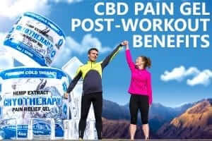 man and woman high five cbd pain gel benefits