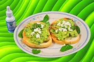 hemp oil avocado toast preview