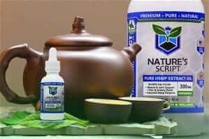 hemp oil green tea preview