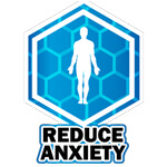 reduce anxiety icon