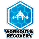 workout and recovery icon