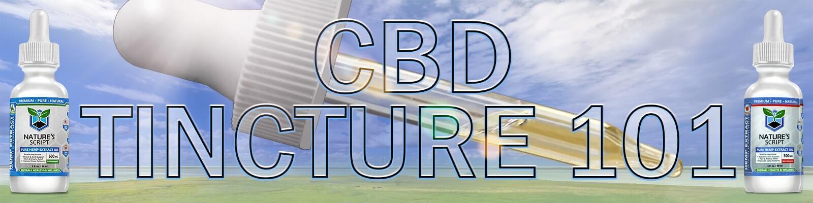 cbd tincture 101 banner