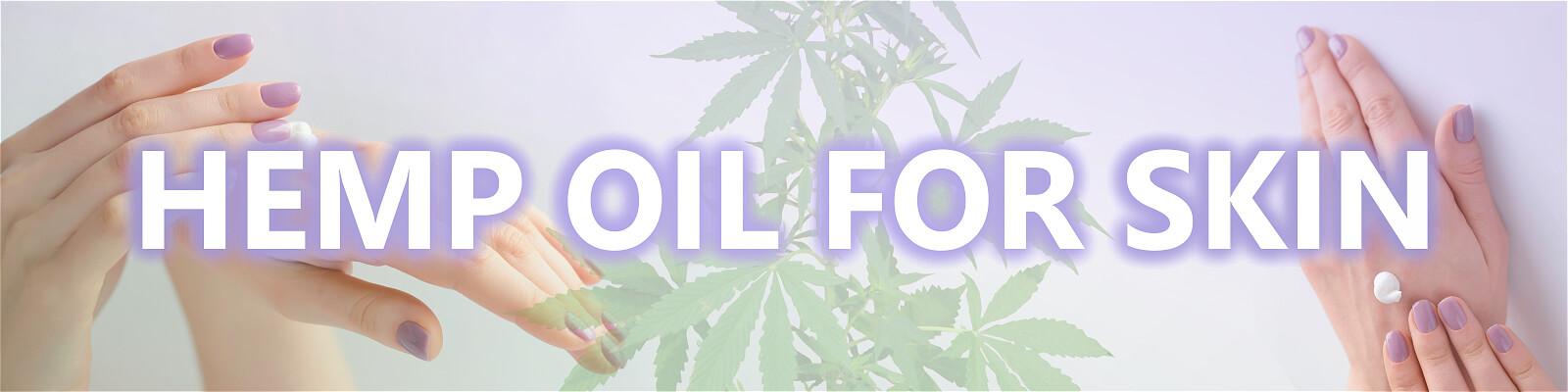 hands moisturizing hemp oil for skin