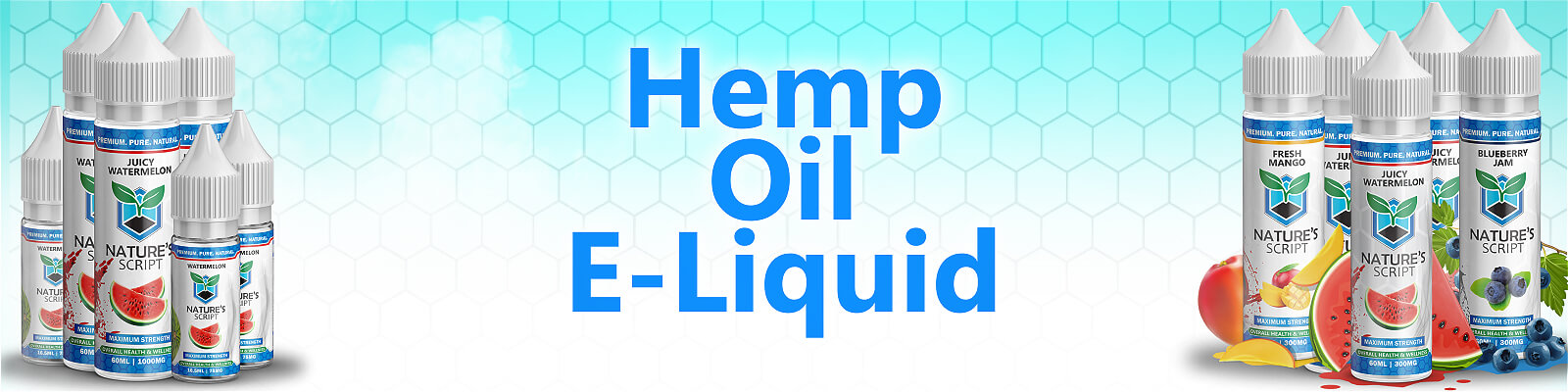 Hemp Vape Oil E-Liquids