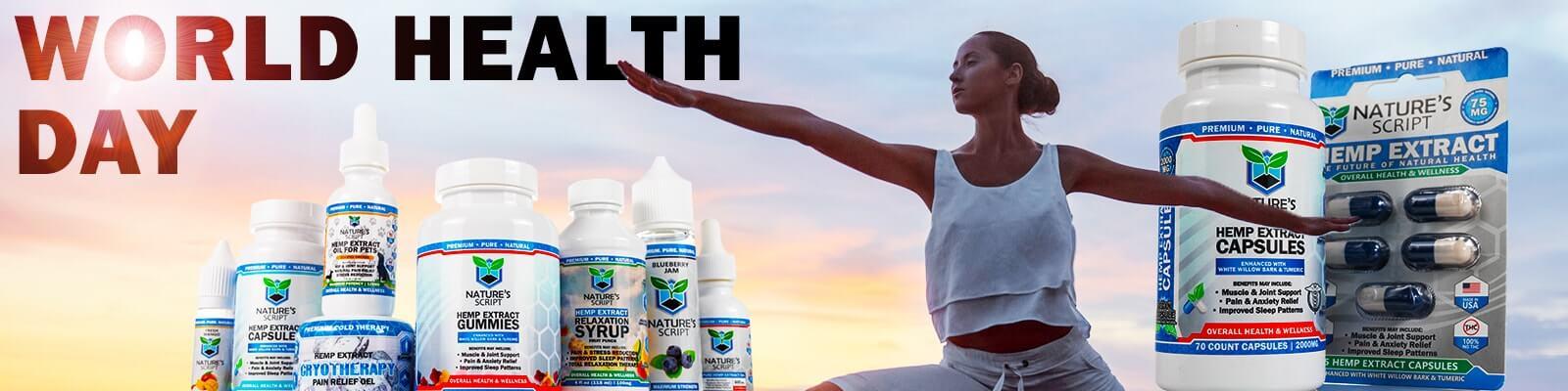world health day banner