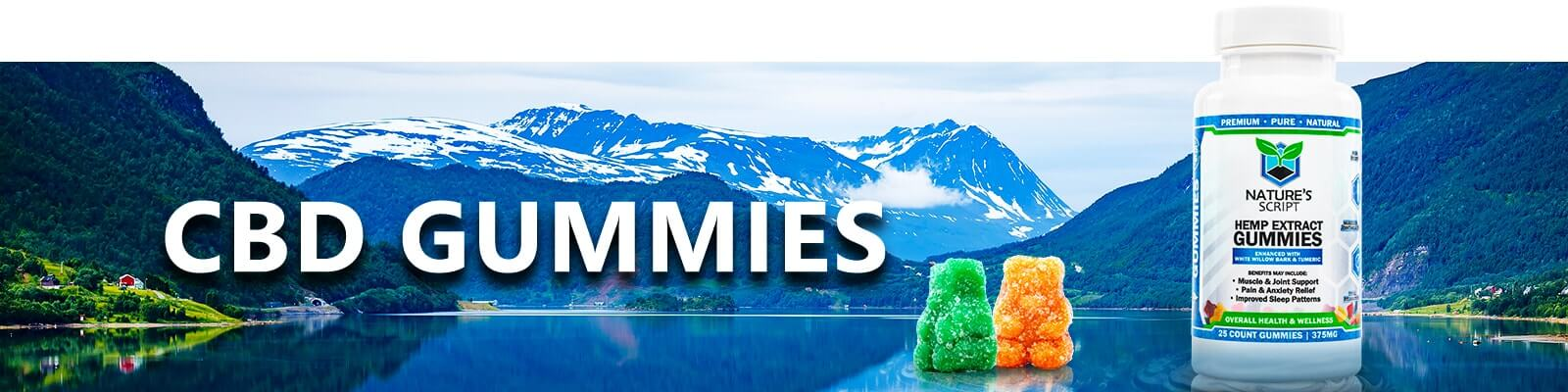 CBD Gummies product banner