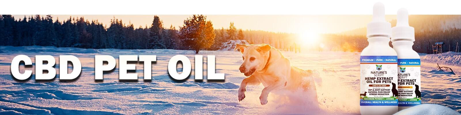 CBD Pet Oil banner