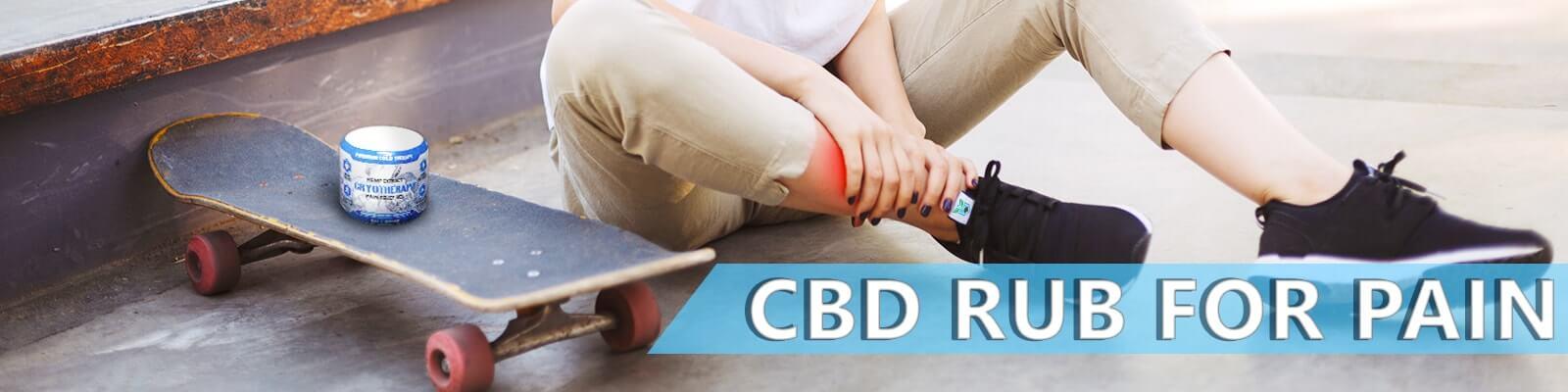 cbd rub for pain