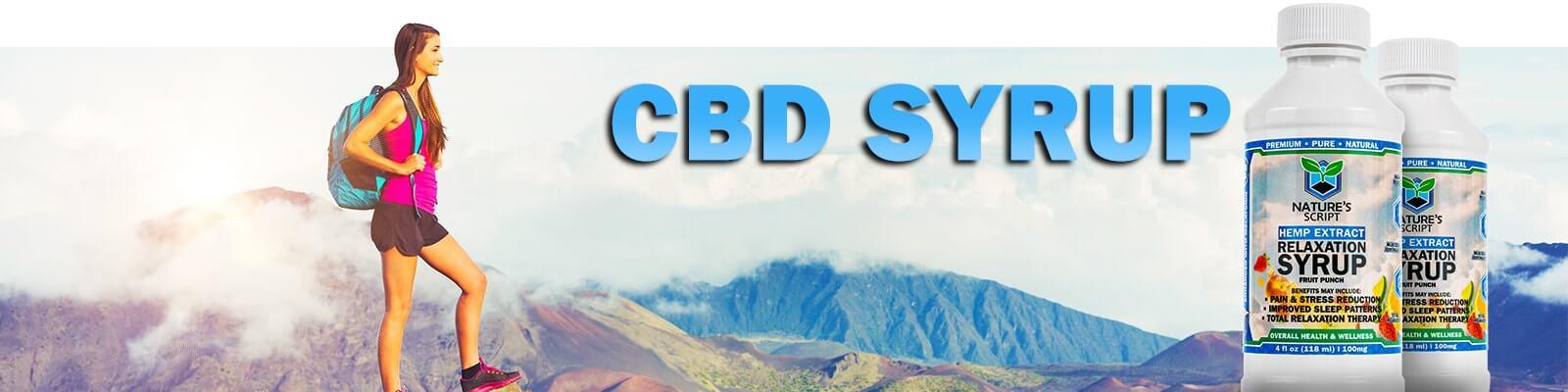 CBD Syrup banner
