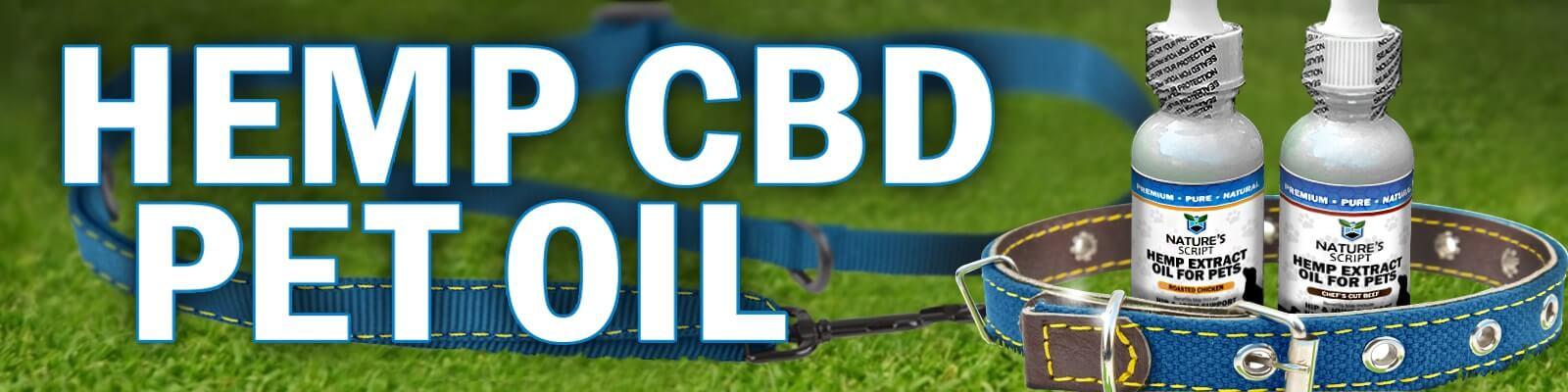 hemp cbd pet oil