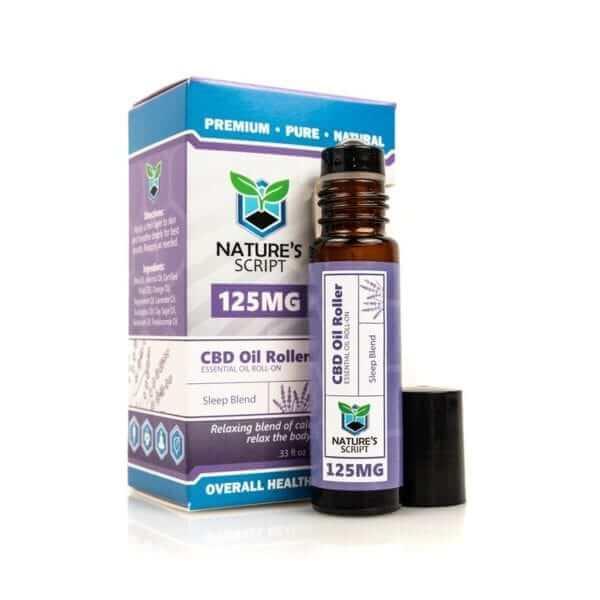 CBD Essential Oil Roller Sleep Blend